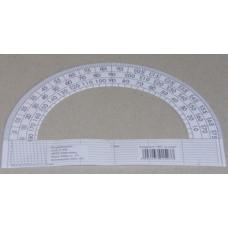 Szögmérő (Papír, 180 Fokos) 100db/csomag