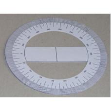 Szögmérő (Papír, 360 Fokos) 100db/csomag