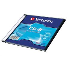 Cd-R Verbatim 700 Mb 52* Vékony Tokos 10db/doboz
