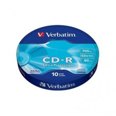 Cd-R Verbatim/10 700 Mb 52* 10db/csomag