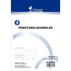 B.Df.200/D Pénztárelszámolás Victoria A/5 25*2