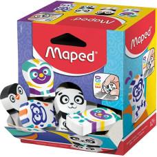 Radír (Maped 119001 Ergo Fun Multicolor) 24db/doboz