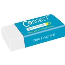 Radír (Connect Fehér Papírtokos) 36db/doboz