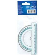 Szögmérő (Műanyag 180 Fok Educa) 48db/doboz