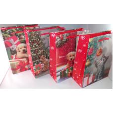 Dísztasak Karácsonyi GL A20-1-2 18*23cm 12db/csomag