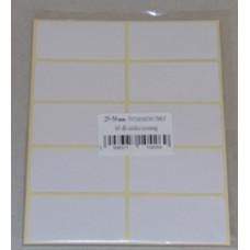 Etikett Cimke Öntapadós, 25*50 60db/csomag