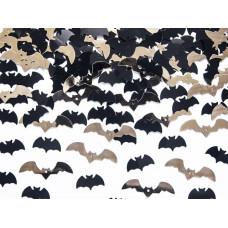Dekoráció Halloween Konfetti Denevér 15gr