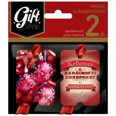 Ajándékkísérő Lizzy KM05 2db/csomag 10csomag/gyűjtő