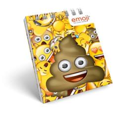 Notesz L-C Sp A/7 Emoji Poop 5db/csomag