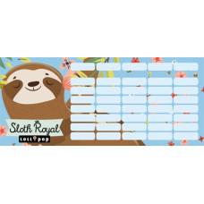 Órarend (L-C Mini Lollipop Sloth Royal)