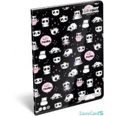 Füzet (A/4 L-C 87-32 Lollipop Hello Panda) 10db/csomag