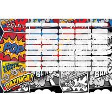 Órarend (L-C 21 Nagy Supercomics Bazinga)