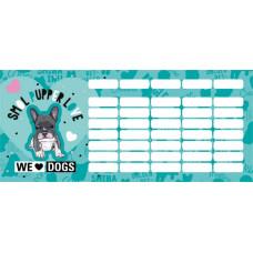 Órarend (L-C 21 Mini We Love Dogs Blue)