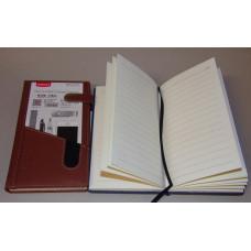 Notesz A40-925 Műbőr Barna Mágneszárral+Telefontartóval 11,5*19,5cm