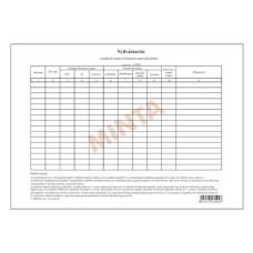 B.C.3212-23 Nyilvánzartás a gondozás-és élelmezési napok nyilvántartásáról A/4