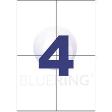 Etikett Cimke Bluering 105*148mm 4db/ív
