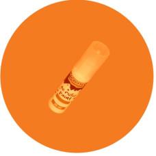 Akrilfesték 20 ml Fényes Narancs