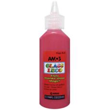 Üvegmatrica Festék Amos 22ml Piros