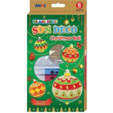 Üvegmatrica Festék Amos Klt. 6*10,5ml Karácsonyi Gömb+6 Fényvarázsforma