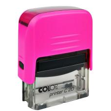 Bélyegzőház C-20 Colop Neon Pink