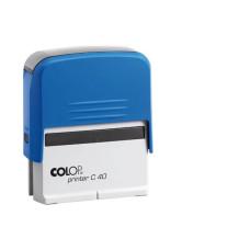 Bélyegzőház C-40 Colop Kék