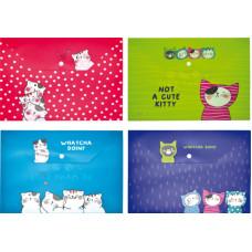 Boríték Pvc M&G A/4 ADM929FM So Many Cats Patentos 12db/csomag