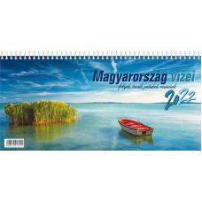 Naptár Asztali T-calendar 22 Képes Magyarország Vizei