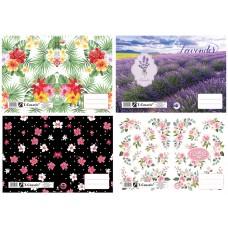 Füzetborító A/5 T-Creatív 21 Flowers 4*5 Minta 20db/csomag