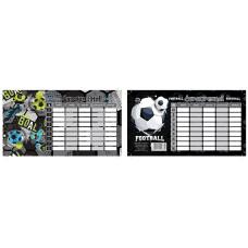 Órarend (T-Creativ Mini 21 Football 8*15cm) 25db/csomag