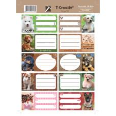 Füzetcimke (T-Creatív Mintás 21 Dogs 25ív/Csomag)