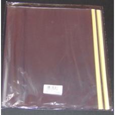 Tankönyvborító PVC Víztiszta 26*45 90micron H-2053