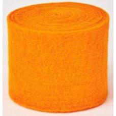 Gyapjú Filc Zománc Rostokkal Narancssárga 7,5cm x 2,5m