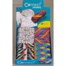 Radír (Connect Eraser Mintás) 36db/doboz