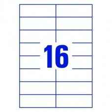 Etikett Cimke Excell 105*33,8 16 Cimke/lap