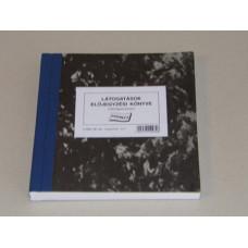 B.C.3341-20 Látogatások Előjegyzési Könyve 150 Lapos Nyomell