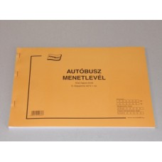 B.D.Gépj.42/V Menetlevél Nyomell 10db/csomag