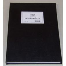 B.De.987 Vendégkönyv A/4 150 Lapos