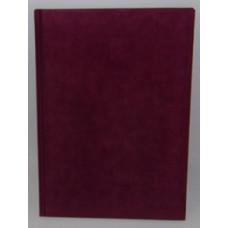 Vendégkönyv A/4 U.Plüss Felirat Nélküli Bordó