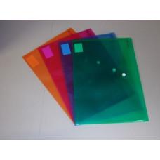 Boríték Pvc Bluering A/4 Vegyes színek 12db/csomag