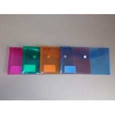 Boríték Pvc Bluering LA/4 Vegyes színek 12db/csomag